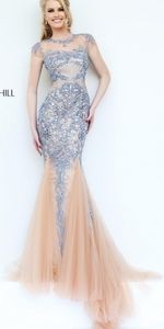 SHERRI HILL Gorgeous prom pageant dress gown 6